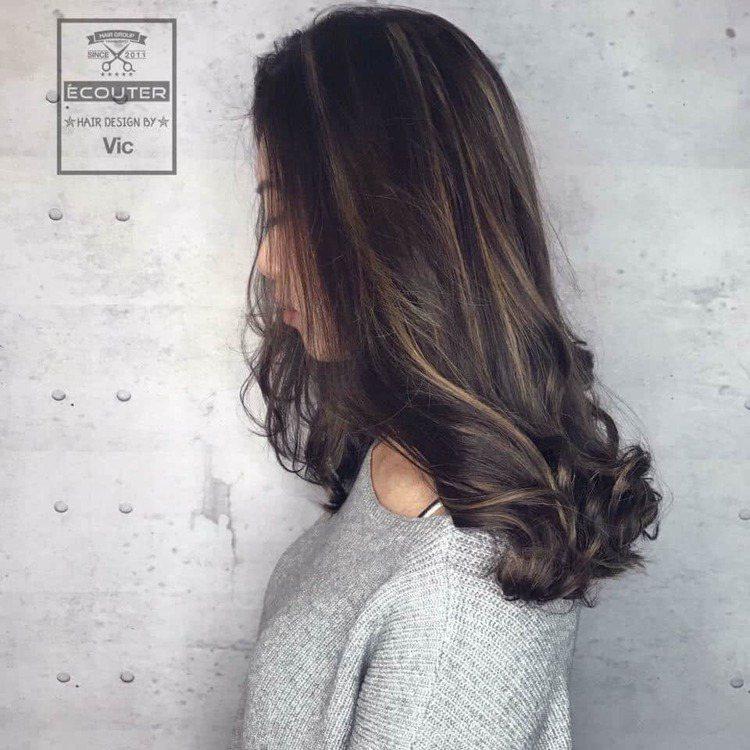 髮型創作/Vic。圖/HairMap美髮地圖提供