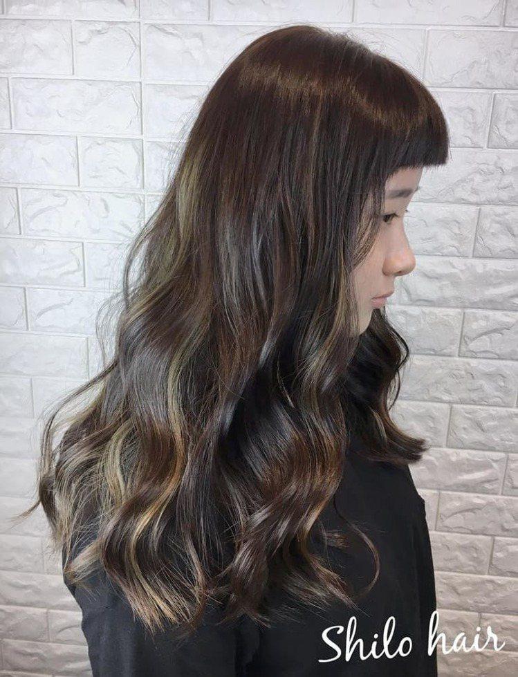 髮型創作/Shilo小雪。圖/HairMap美髮地圖提供