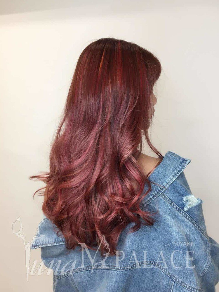 髮型創作/Yuna。圖/HairMap美髮地圖提供