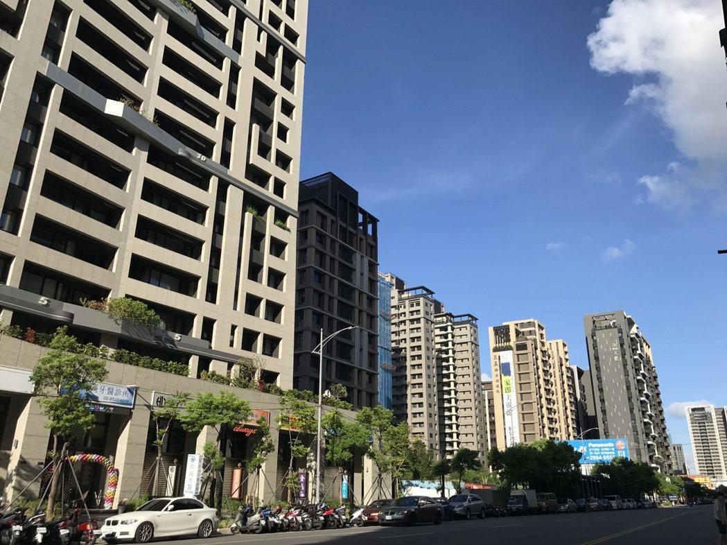 受破盤案影響,新莊副都心今年上半年有不少屋主認賠出售。記者游智文/攝影