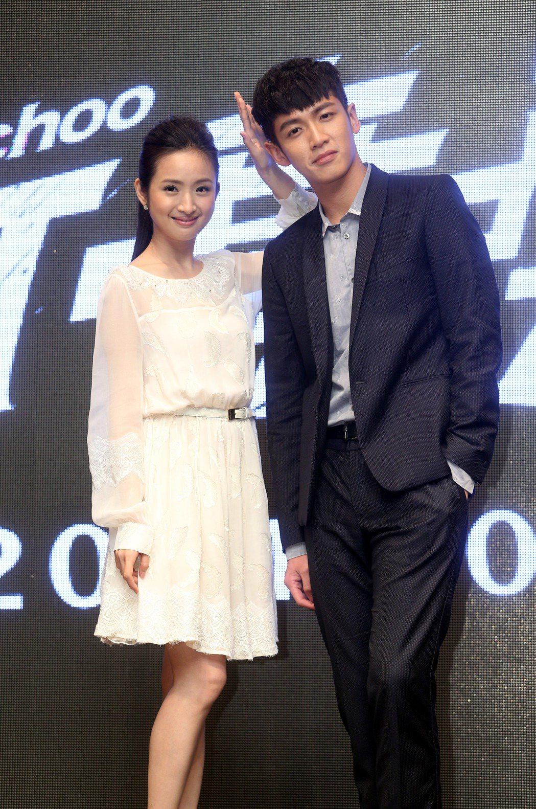 電影「打噴嚏」男女主角是柯震東與林依晨。圖/聯合報系資料照