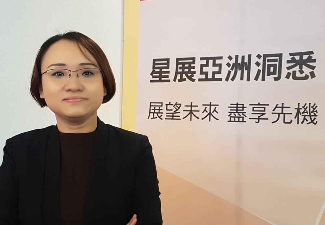 星展集團經濟學家馬鐵英。 記者孫中英/攝影