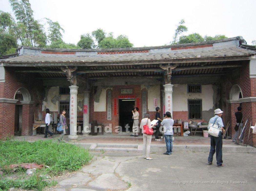 台中市定古蹟「瑞成堂」未被破壞前樣貌。本報資料照片