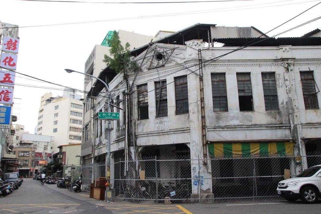 彰化文資審議委員會3月初將彰化拉吉吉散石油會社代理店列為暫定古蹟。本報資料照片