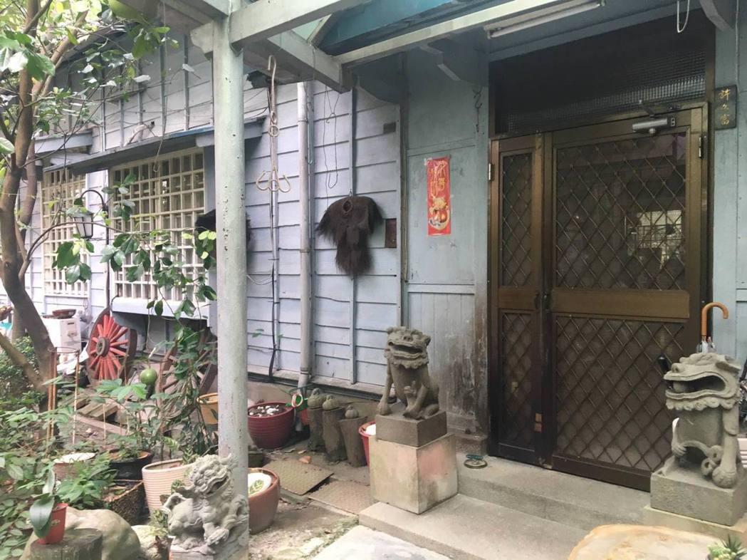 前國防部長俞大維曾暫居的溫州街22巷4號。圖/北市文化局提供