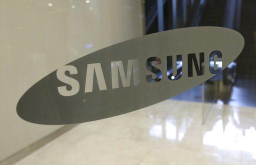 SAMSUNG8奈米晶片製程技術研發完成。美聯社