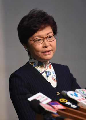 香港特區行政長官林鄭月娥17日宣布,政府明日在立法會會議上提出終止審議《2017...