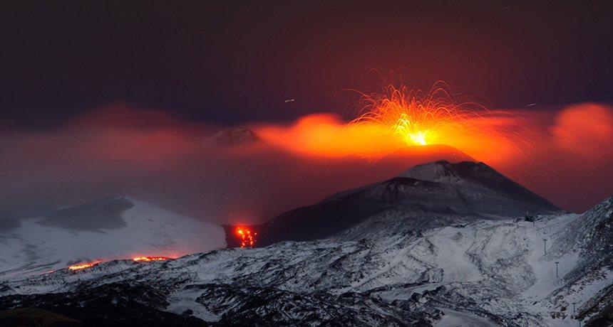 研究人員今天表示,2000多年前火山猛烈噴發,大量岩屑遮蔽了陽光,使尼羅河上游水...