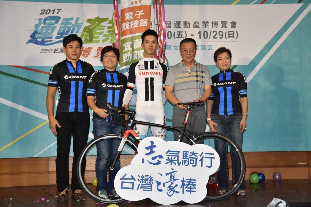 台灣自行車選手杜志濠2018年將正式加盟Team sunweb,成為重點培訓選手。圖/捷安特提供