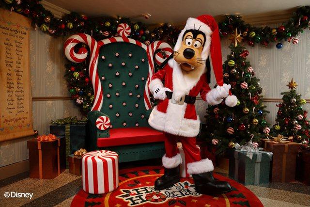 聖誕高飛會於樂園及酒店康樂活動中出現與你會面。 圖/香港迪士尼樂園 提供