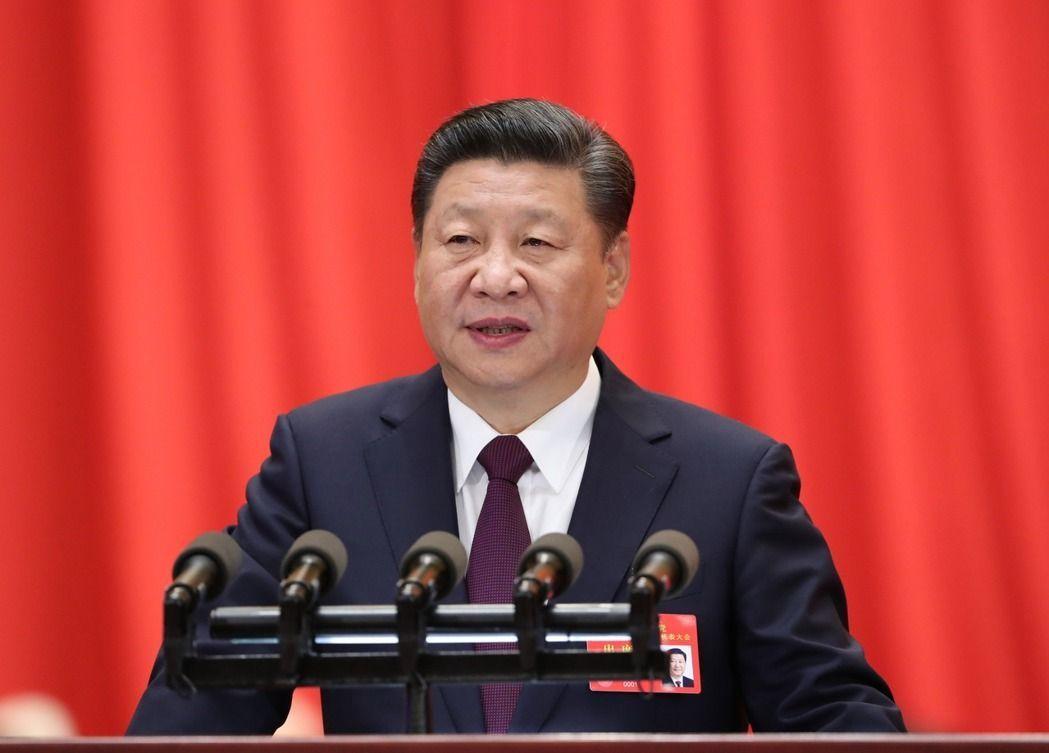 中國共產黨第十九次全國代表大會在北京人民大會堂開幕。習近平代表第十八屆中央委員會...