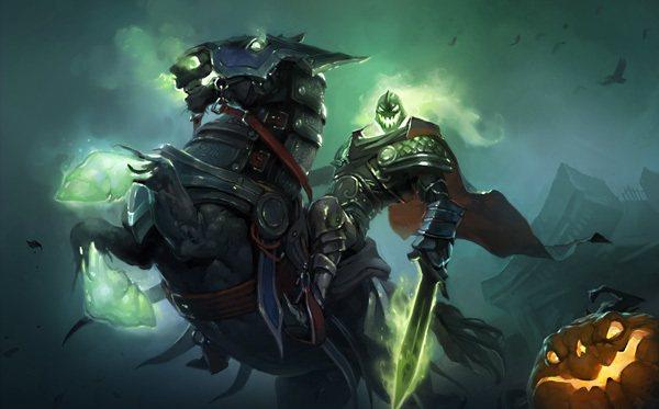 《爐石戰記》萬鬼節活動即將開跑,無頭騎士將於10月26至10月29日期間在特殊萬...