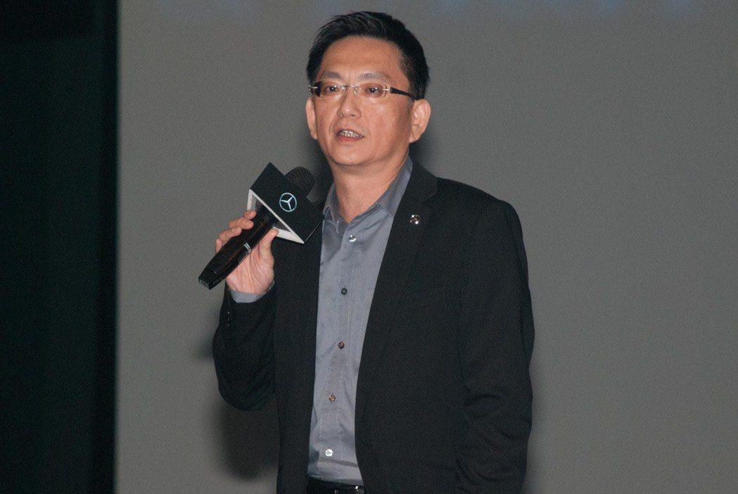 台灣賓士重車行銷業務部協理徐大展。記者林昱丞/攝影