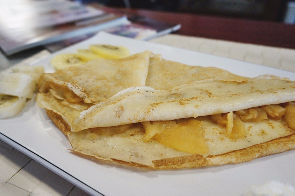 布列塔尼薄餅。(攝影/林郁姍)