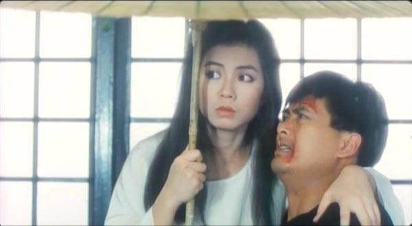 周潤發與鍾楚紅在「鬼新娘」有一段奇幻情緣。圖/摘自Hong Kong Cinem...