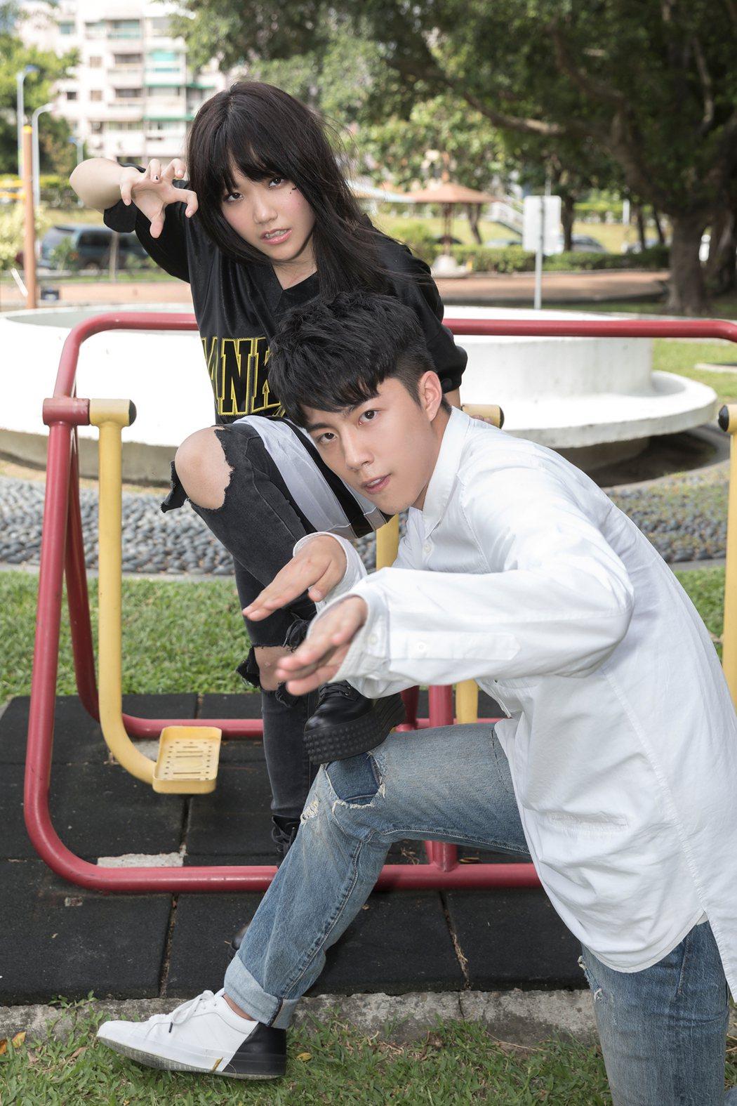 安那新歌「我無法懂得」找來蔡凡熙擔任男主角。圖/環球唱片提供
