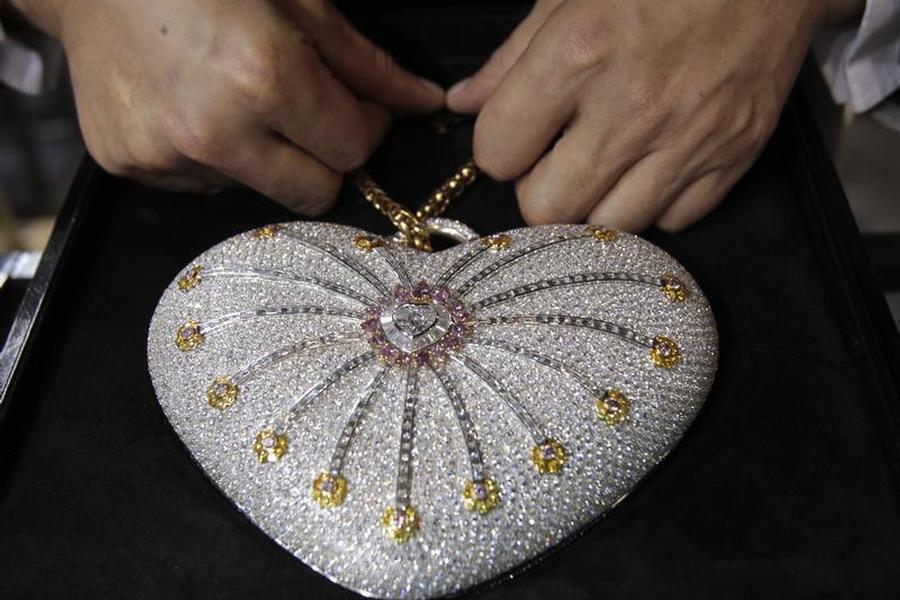 「莫瓦1001夜鑽石包」(Mouawad 1001 Nights Diamond...