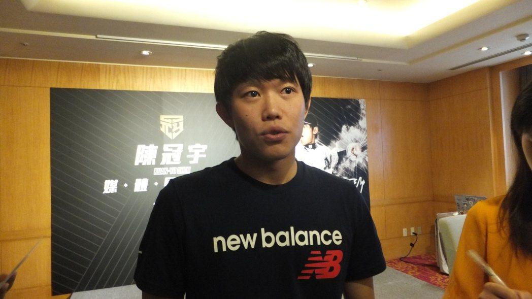 旅日投手陳冠宇稱讚學弟宋家豪,不但很努力,個性也很好。記者藍宗標/攝影