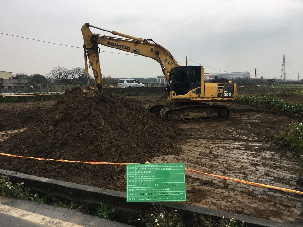 桃市環保局向環保署爭取第三期(3-2)農地汙染改善計畫,期望能在108年底前完成...