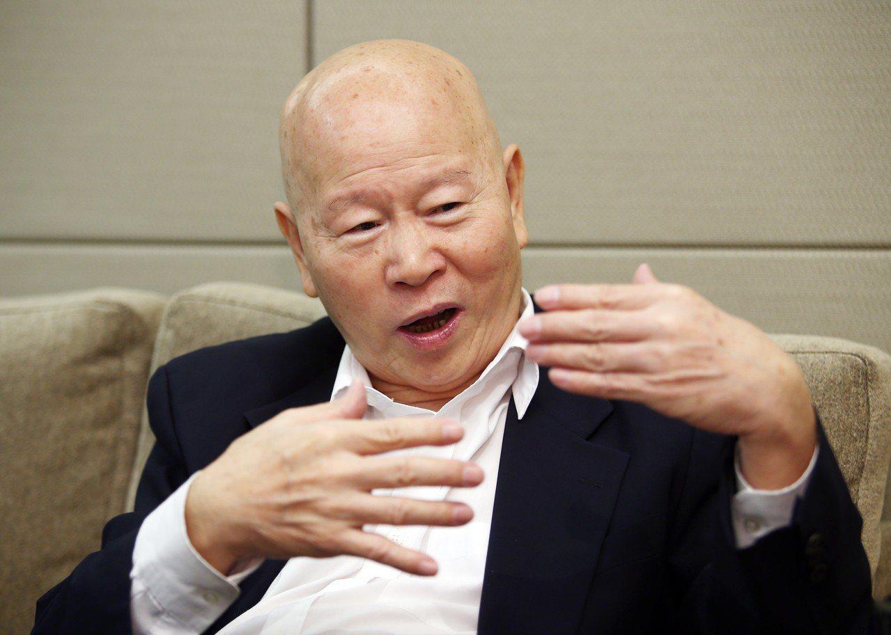 民進黨前主席許信良接受聯合報專訪,直言台灣欠缺好的憲政慣例,而非修憲。記者杜建重...
