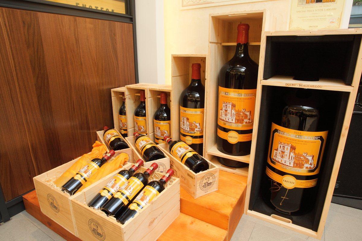 售價140萬元的chateau ducru beaucaillou 2013大瓶...