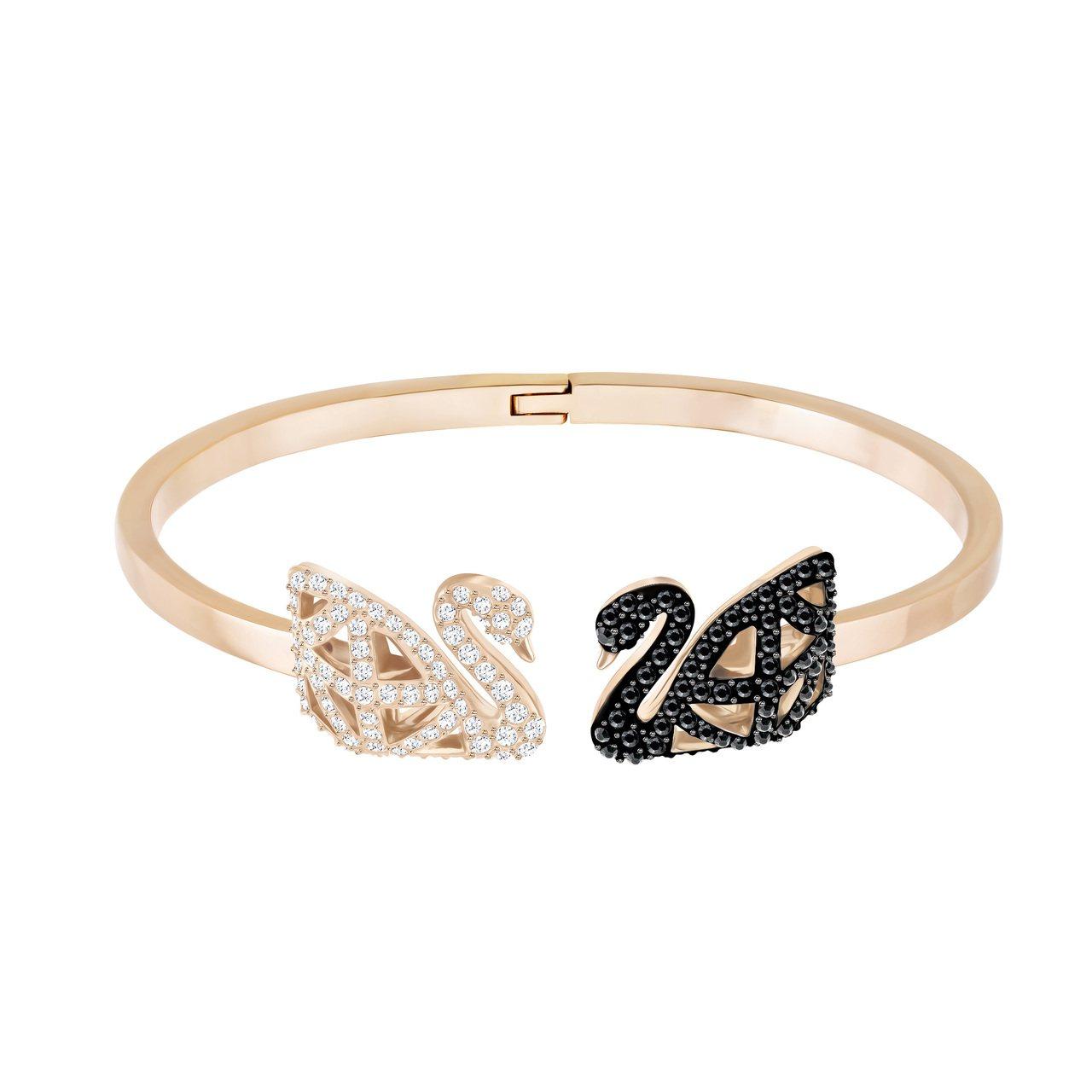 Facet Swan手環,7,990元。圖/施華洛世奇提供