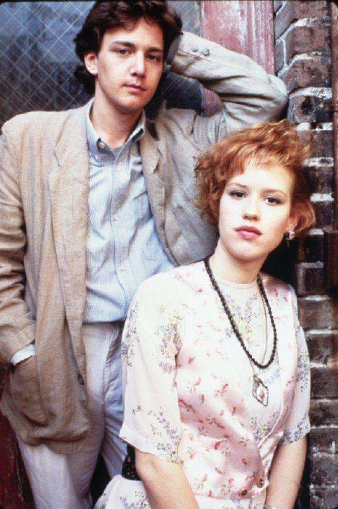 「紅粉佳人」讓安德魯麥卡西與摩莉倫華成為全美年輕觀眾心目中的絕配。圖/摘自imd...