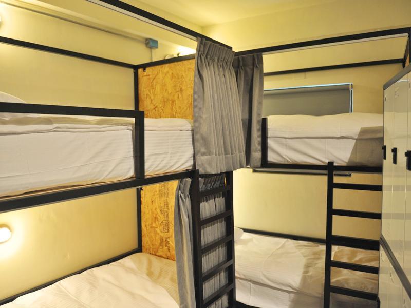台中的青年旅館「青庭輕旅」,客群主打背包客,價位約400至750元之間。 圖/青...