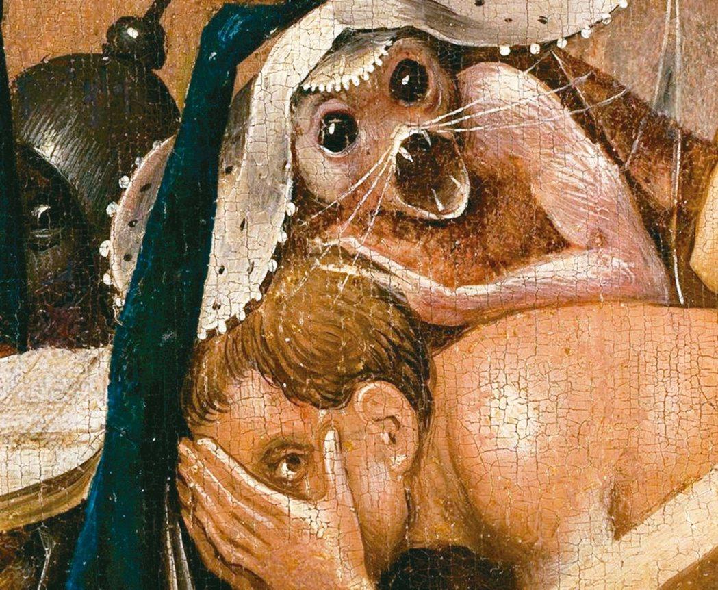 圖四:波希創作出了一個詭異怖懼的世界。 圖片提供/蔣勳
