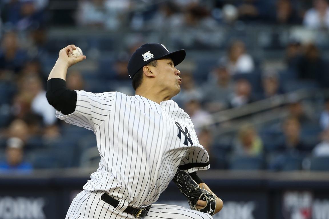 田中將大在季後賽至今出賽3場拿2勝,共投20局,送出18次三振,防禦率僅0.90...