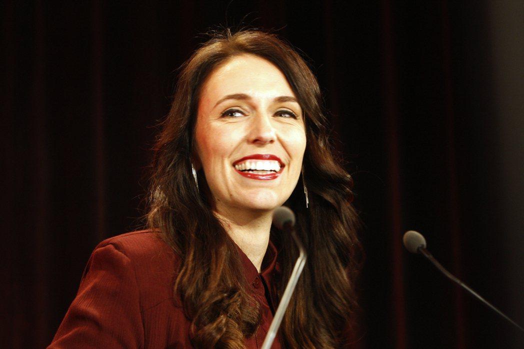 37歲的紐西蘭準總理潔欣達‧阿爾登。 美聯社