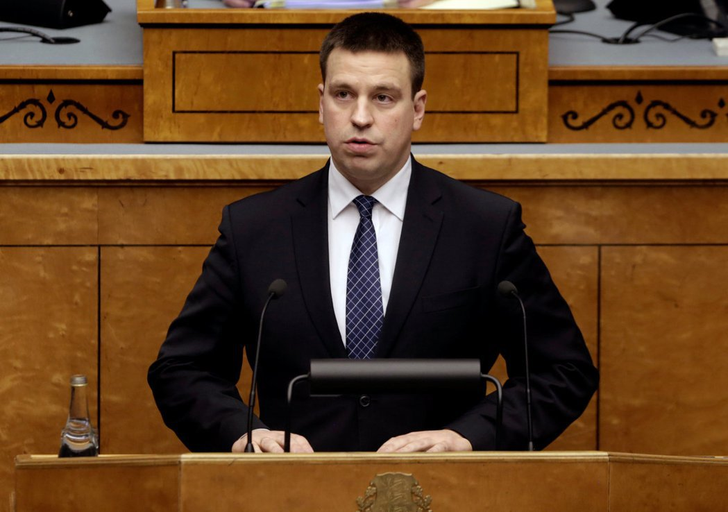 現年39歲的愛沙尼亞總理拉塔斯,他就任時38歲。 路透