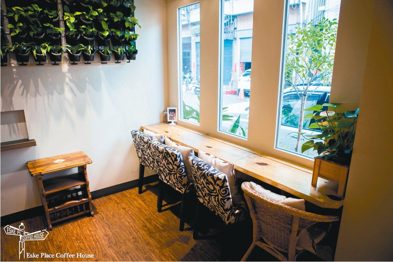Eske Place Coffee Hous是南台灣最道地的紐澳咖啡館。 圖/陳...