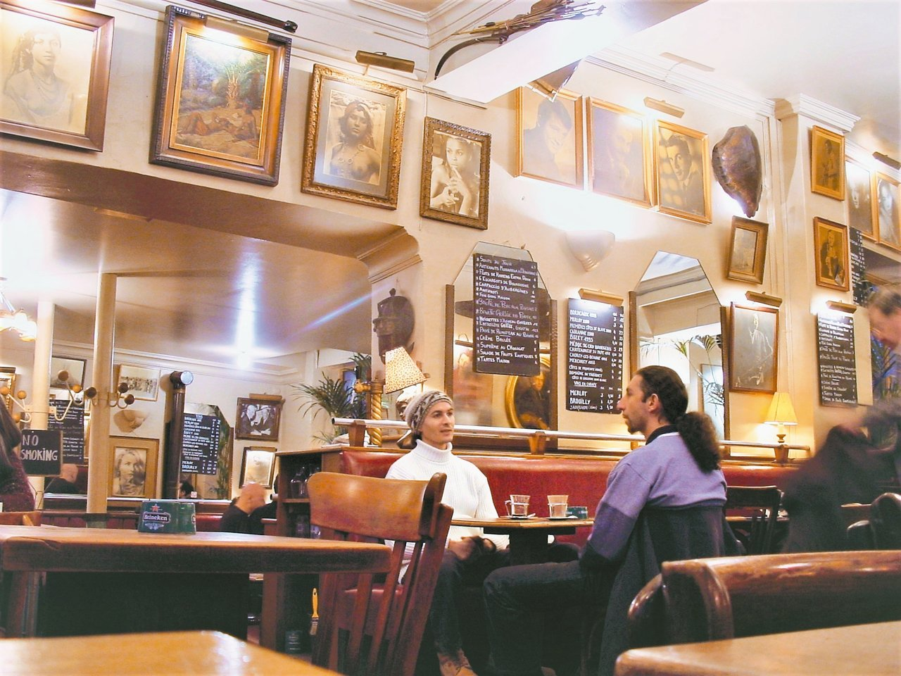 Café de l'Industire,巴黎隱藏在各街巷角落的傳統咖啡館最有庶民...