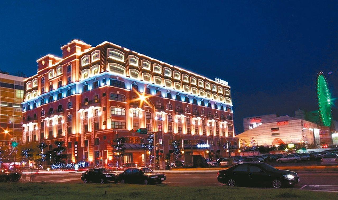 原台北戀館(現更名為和璞飯店)外觀。 取自官方網站