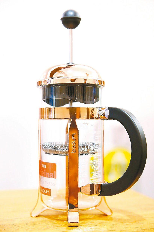 bodum法式濾壓壺。圖/咖啡大叔