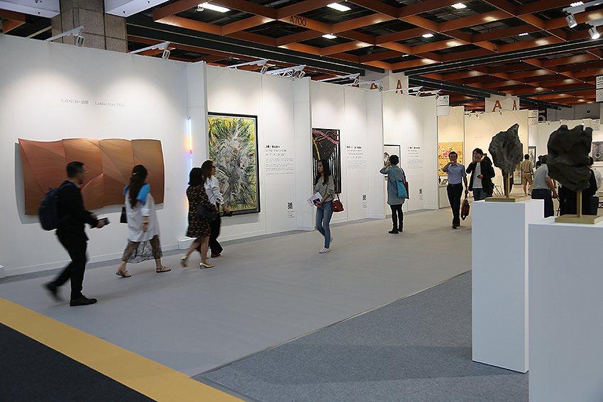 「ART TAIPEI 2017(台北國際藝術博覽會)」10月19-23日在世貿...