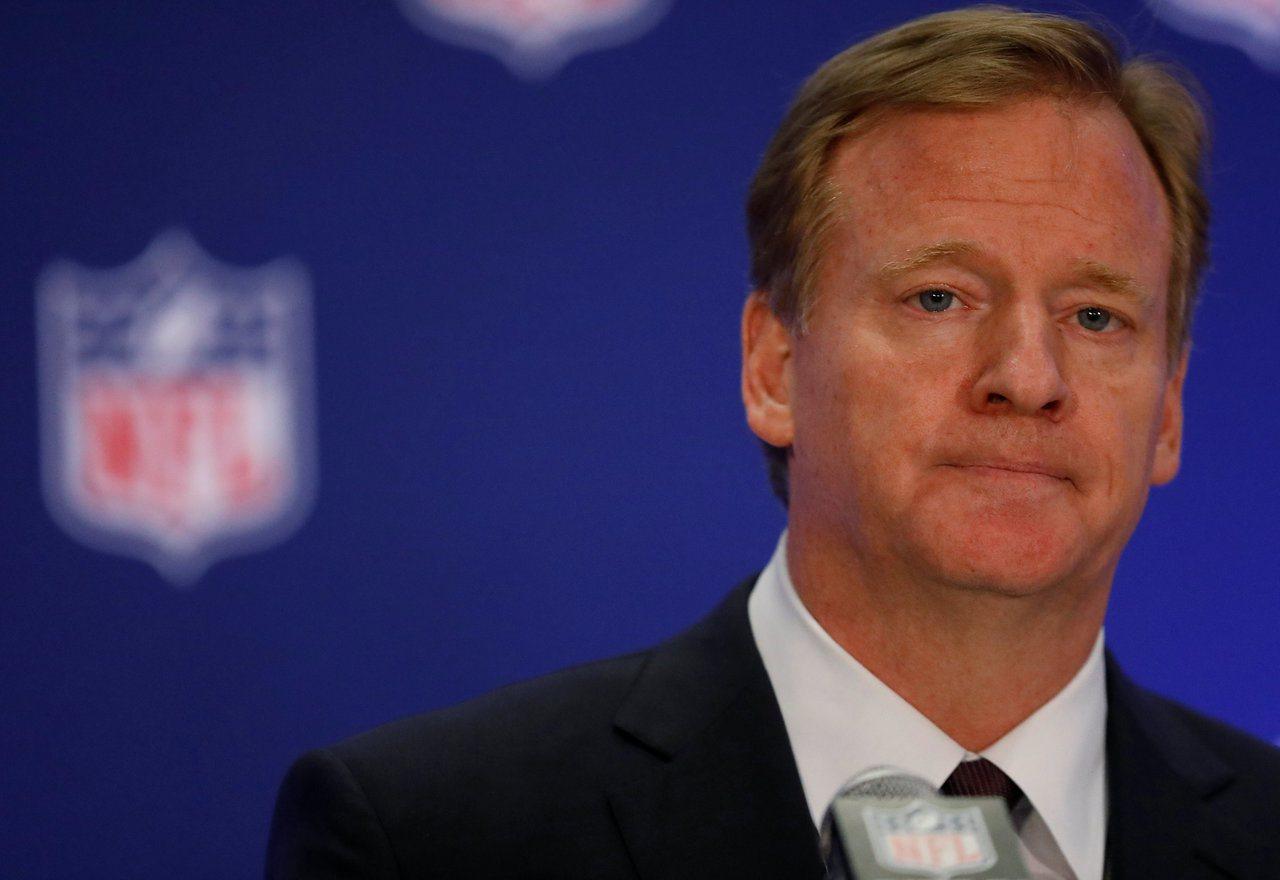 NFL主席古德爾表示聯盟不會改變場上規則。 路透