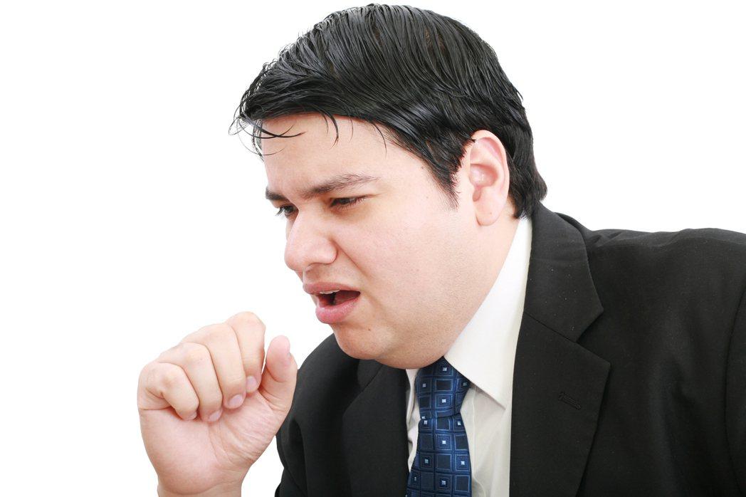 慢性咳嗽在定義上指的是超過三週以上的咳嗽。示意圖/Ingimage