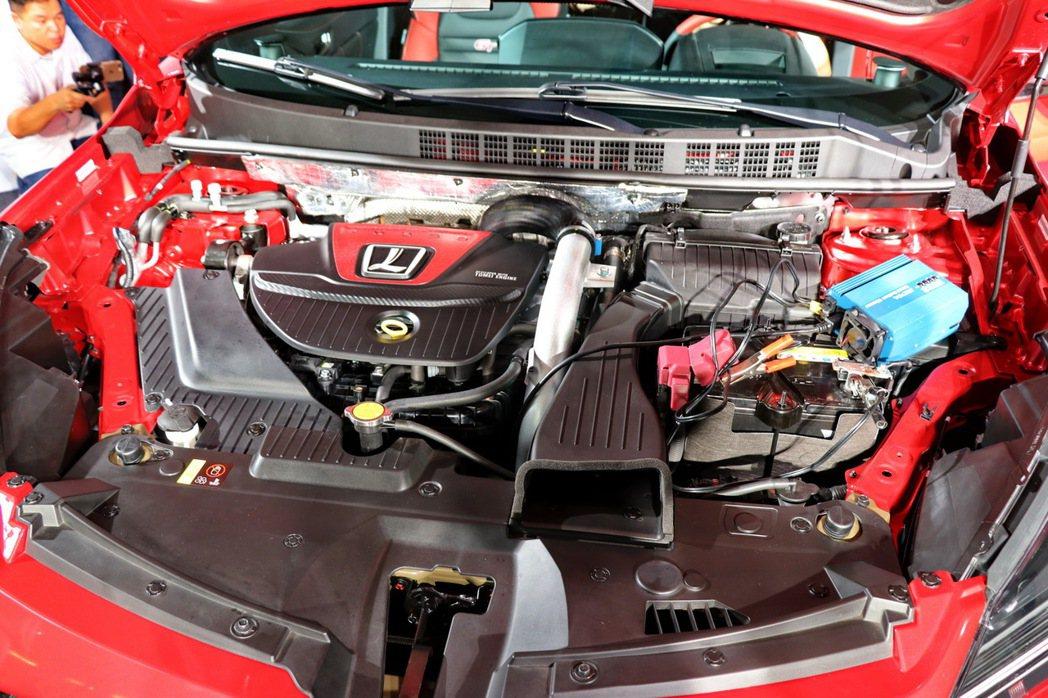 U6 GT220搭載1.8L雙渦流渦輪增壓引擎,最大馬力222ps、峰值扭力則為...