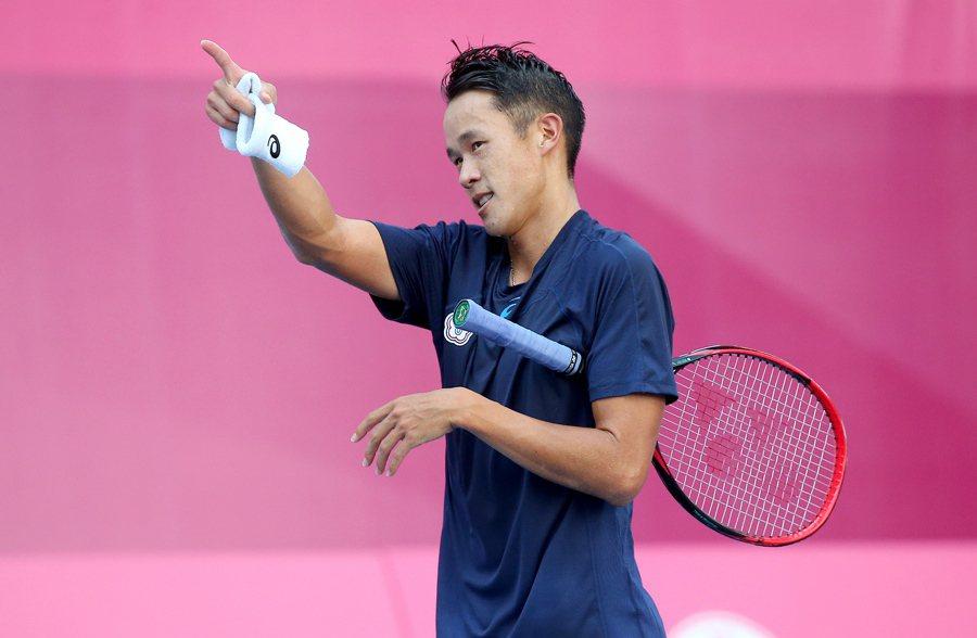 圖為台灣男子網球選手莊吉生。 圖/聯合報系資料照