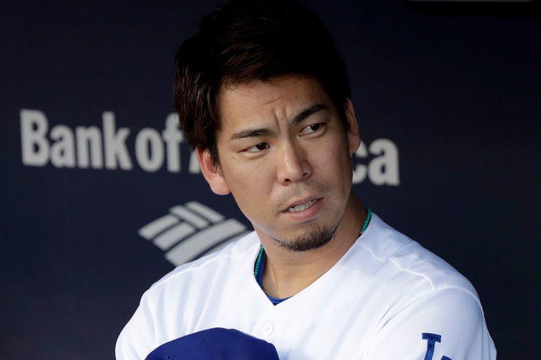 前田健太在季末幾次先發的狀況非常不理想,但想不到在季後賽被調到牛棚,4次出場都沒...