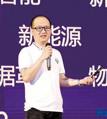 紫輝創投CEO鄭剛。