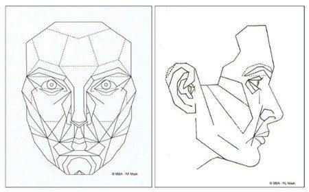 * 馬奎德面具(女性版) * 圖片來源: Dr. Stephen R. Marq...