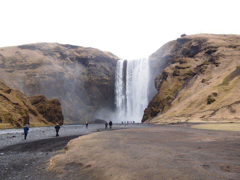 Seljalandsfoss瀑布。圖文來自於:TripPlus