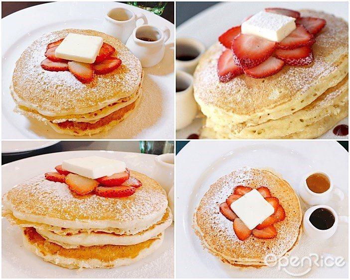 ▲檸檬草莓Pancakes NT$360元。熱愛甜食的絕對必點,鬆軟又充滿香氣的...