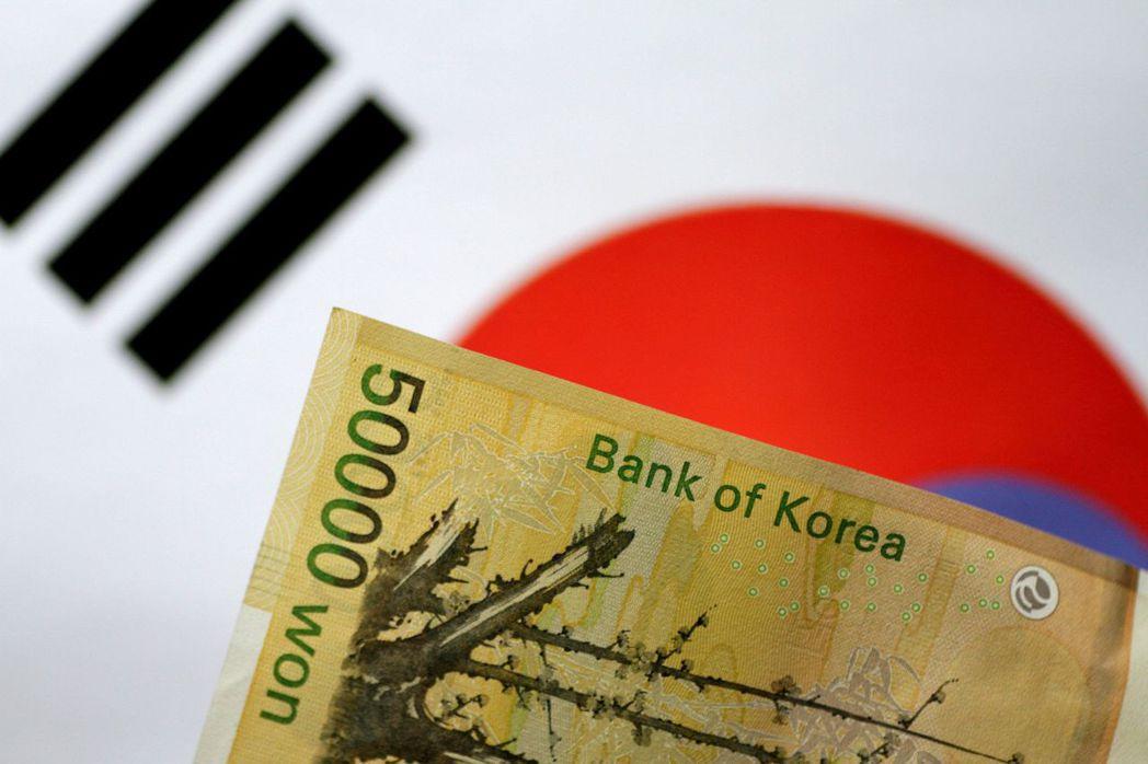 南韓央行接下來可能升息。(路透)