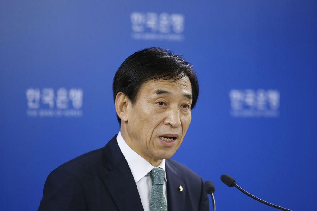 李柱烈表示,南韓調整寬鬆貨幣政策立場的環境趨向成熟。(美聯社)