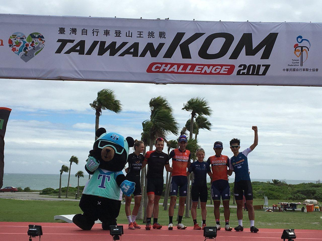 台灣自行車登山王挑戰,不僅國外好手雲集,國內精銳也盡出。記者徐庭揚/攝影
