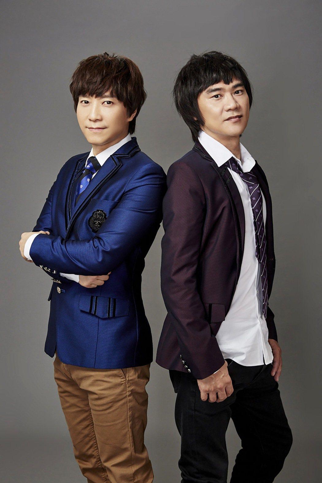 邰正宵(左)、姚可傑將於11月18日舉辦演唱會。圖/起初音樂提供
